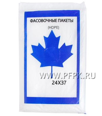 24х37 евро HDPE СИНИЙ КЛЕН (упак.) Матовые