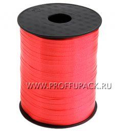 Лента на бобине цветная 0,5см х 500м FIESTA Красная FIESTA W-4