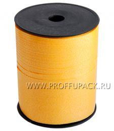 Лента на бобине цветная 0,5см х 500м FIESTA Желтая