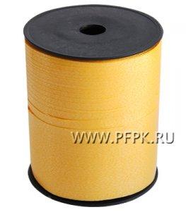 Лента на бобине цветная 0,5см х 500м Желтая