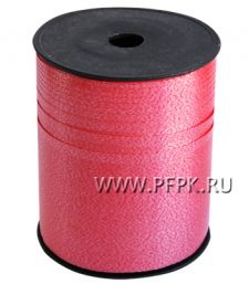 Лента на бобине цветная 0,5см х 500м Красная