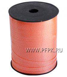 Лента на бобине цветная 0,5см х 500м Оранжевая