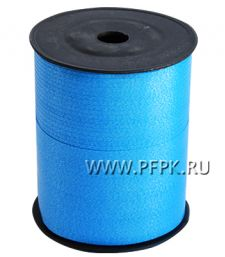 Лента на бобине цветная 0,5см х 500м Синяя