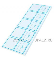 Ценники бумажные 60х105 под бутылку (500 шт) (128-686)