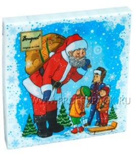 Салфетки НГ бум. DESNA BOUQUET 33х33, 2-сл.,с рис. (20 листов) Дядя Степа - Дед Мороз