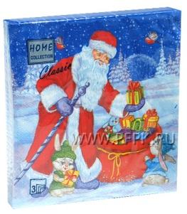 Салфетки НГ бум. DESNA HOME COLLECTION CLASSIC (20 листов) Подарки от Деда Мороза