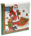 Салфетки НГ бум. DESNA HOME COLLECTION CLASSIC (20 листов) Дед Мороз с подарками..