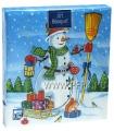 Салфетки НГ бум. DESNA BOUQUET 33х33, 3-сл.,с рис. (20 листов) Снеговик с подарк..