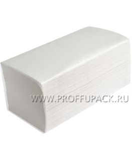 Полотенца бум. V-слож. 1-сл. СНЕЖИНКА (25 гр, 250 листов)