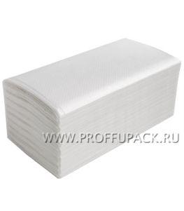 Полотенца бум. V-слож. 1-сл. LOTTI-PROFF  (35 гр, 250 листов) (V-33-250)