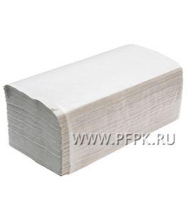 Полотенца бум. V-слож. 1-сл. LOTTI-PROFF  (35 гр, 250 листов) макулатурные (МС-35-250)