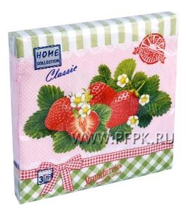 Салфетки бум. DESNA HOME COLLECTION CLASSIC (20 листов) Клубника Fresh