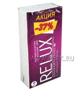 Платки носовые RELUX 2-слойные (уп.10 листов) Роза