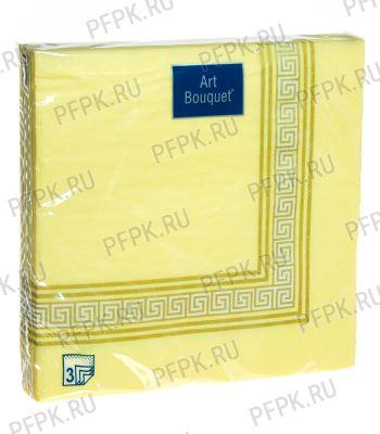 Салфетки бум. DESNA BOUQUET 33х33, 3-сл.,с рис. (20 листов) Греческие мотивы