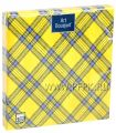 Салфетки бум. DESNA BOUQUET 33х33, 3-сл.,с рис. (20 листов) Шотландская клетка ж..