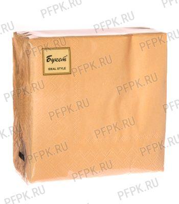 Салфетки бум. DESNA BOUQUET TROPICAL 25х25, 2-сл. (50 листов) Персиковые