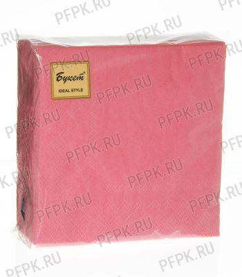 Салфетки бум. DESNA BOUQUET TROPICAL 25х25, 2-сл. (50 листов) Розовые