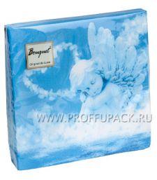 Салфетки бум. DESNA BOUQUET 33х33, 2-сл.,с рис. (20 листов) Ангел любви