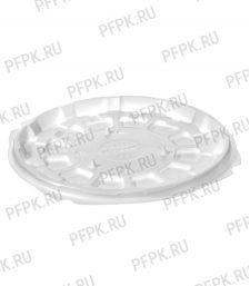 Тортница круг. d166мм Т-165 ДНО белая КОМУС (без крышки) ПС Шип