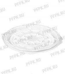 Тортница круг. d180мм Т-018 ДНО белая КОМУС (без крышки) ПС Шип