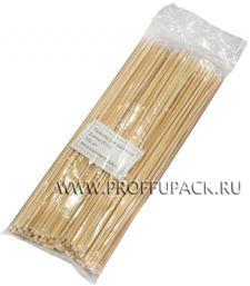 Шампуры для шашлыка 200мм (100 шт. в уп.) Бамбуковые Континент