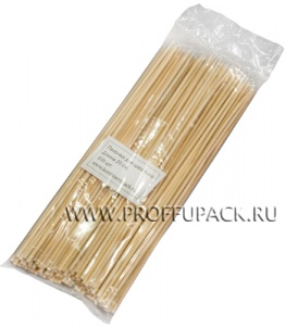 Шампуры для шашлыка 200мм (100 шт. в уп.) Бамбуковые