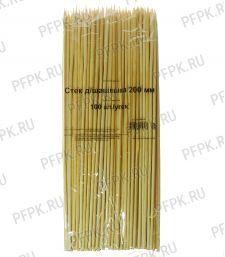 Шампуры для шашлыка 200мм (100 шт. в уп.) арт.CTPBS200