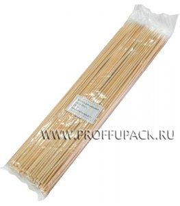 Шампуры для шашлыка 300мм (100 шт. в уп.) Бамбуковые