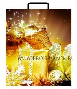 НГ Сумочка из мягкого пластика 01 (26х23х10) малая BAS-55 (Подарки)