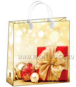 НГ Сумочка из мягкого пластика 02 (30х30х10) средняя BAM-143 (Подарок и шары)