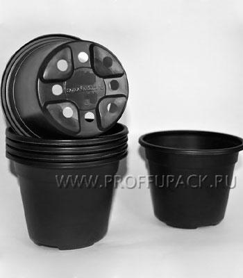 Горшок круглый, 300мл, D90/H81