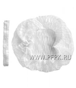 Шапочки медицинские ШАРЛОТТА (уп. 100 шт) Белые АМАРАНТ (ШБ-12)