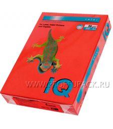 Бумага офисная цветная IQ А4, 500л. (интенсив) Красный кирпич (090-803/110-661/ ZR09)
