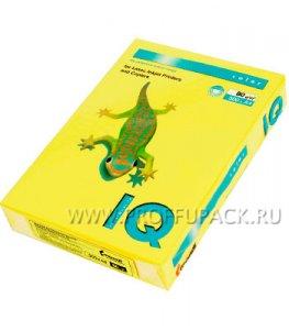 Бумага офисная цветная IQ А4, 500л. (интенсив) Канареечно-желтая (083-951/ 110-659 / CY39)