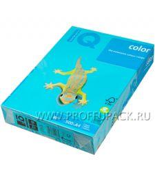 Бумага офисная цветная IQ А4, 500л. (интенсив) Светло-синий (093-510 / 110-663 / AB48)