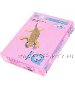 Бумага офисная цветная IQ А4, 500л. (неон) Розовый неон (083-748 / 110-670/ NEOPI)