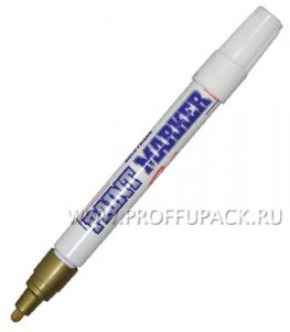 Маркер-краска 4мм MunHwa Золотой (106-633 / РМ-07)