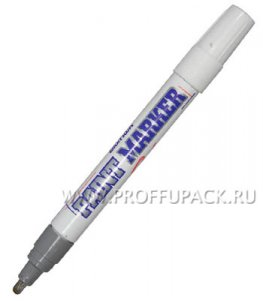 Маркер-краска 4мм MunHwa Серебряный (096-105 / РМ-06)