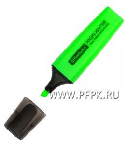 Выделитель (текст маркер) Зелёный (255-624/ Н_16445)