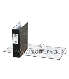 Папка-регистратор BRAUBERG Contract, 70мм (221-987) Черный торец