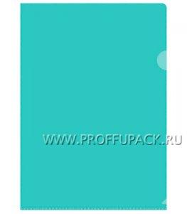 Папка-уголок жесткая А4 Зеленая (162-533 /Fmu15-3_866)