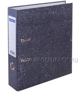 Папка-регистратор 70мм, мрамор (153-195)