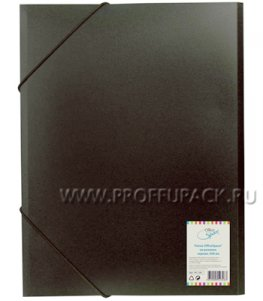 Папка на резинках А4, 500мкм (158-513 / FE 1_326)