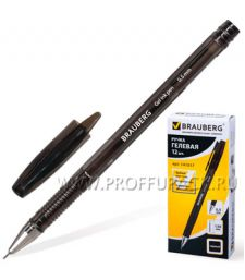 Ручка гелевая BRAUBERG Income (Инком) 0.5мм Черная (141-517)