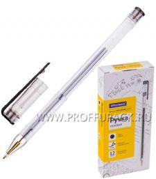 Ручка гелевая OFFICE SPACE Черная (180-139 / GPA100/BK_1717)