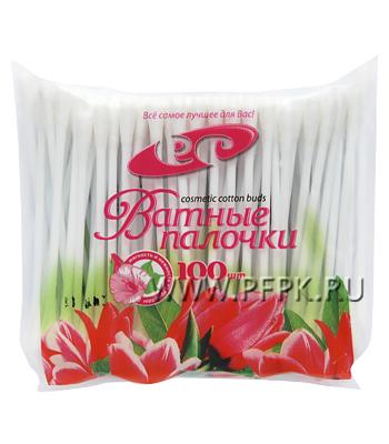 Ватные палочки (пакет 100 шт)