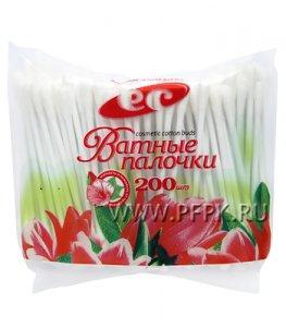 Ватные палочки (пакет 200 шт.)