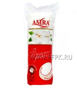Ватные диски AMRA (уп. 80 шт.)