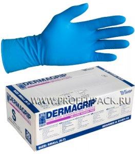 Перчатки латексные DERMAGRIP HIGH RISK (Хай риск) S (размер 6-7)