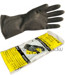 Перчатки КЩС-1 кислото-щелоче-стойкие M (размер 1)